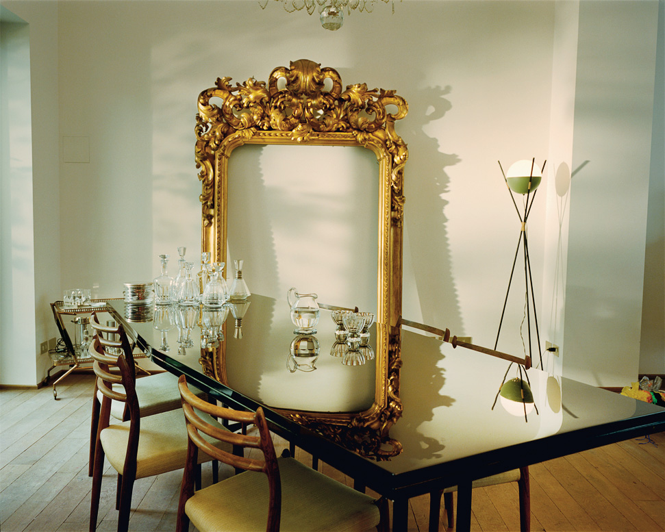 Dream Date: Carolina Castiglioni and her dining room.