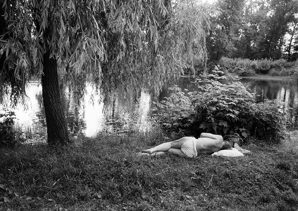 Lounging under a willow tree sounds nice to me.