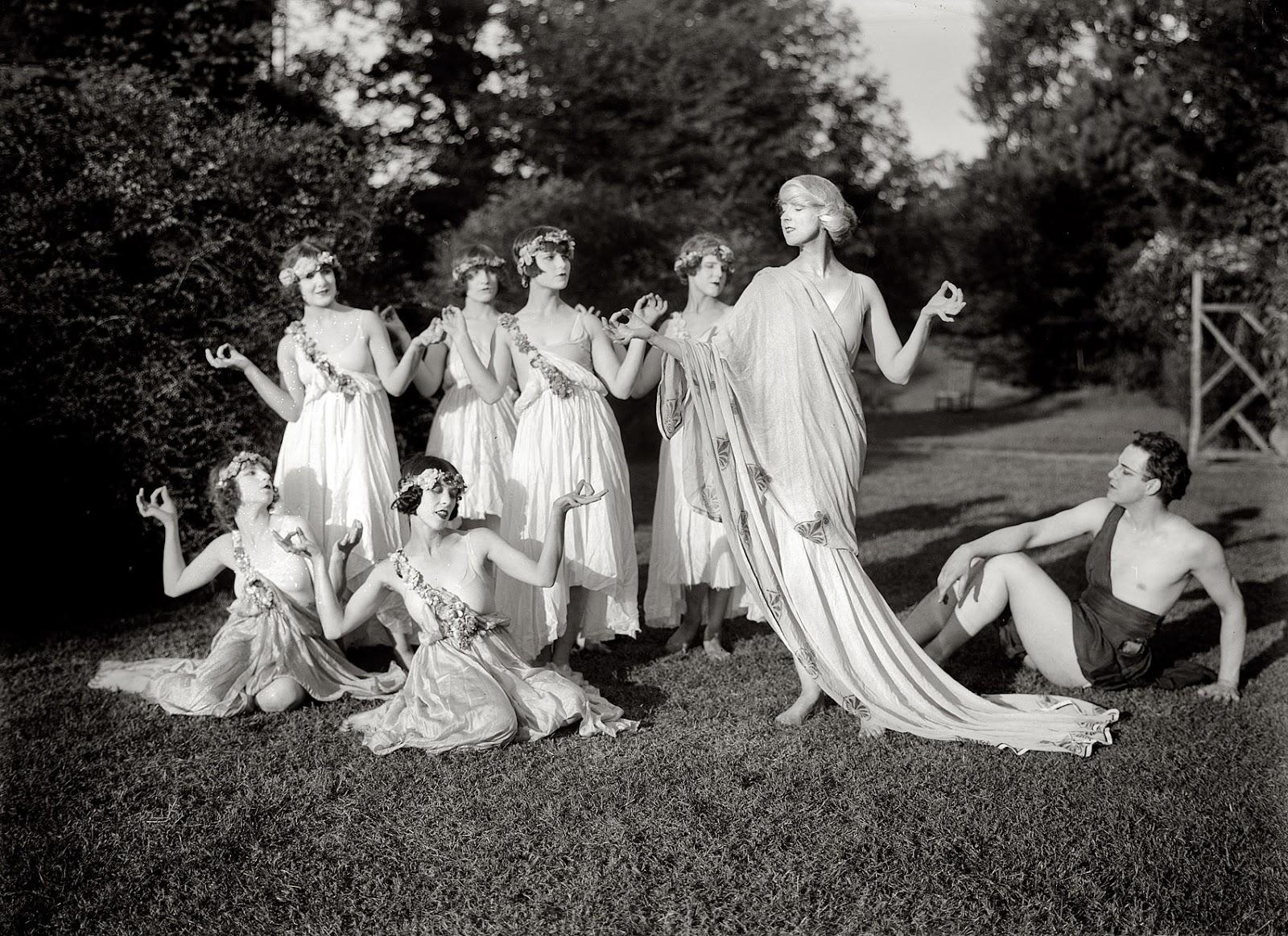 Dream Date: Denishawn Dancers.