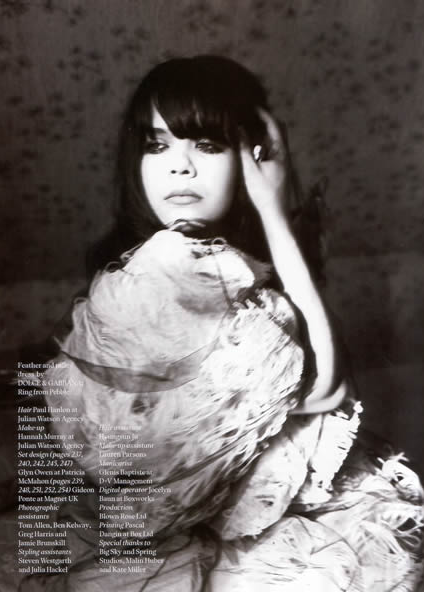 Dream Date: Bat for Lashes.