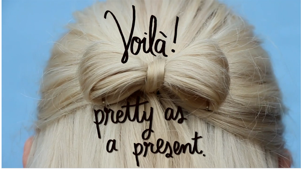 Pretty as a present: the video!