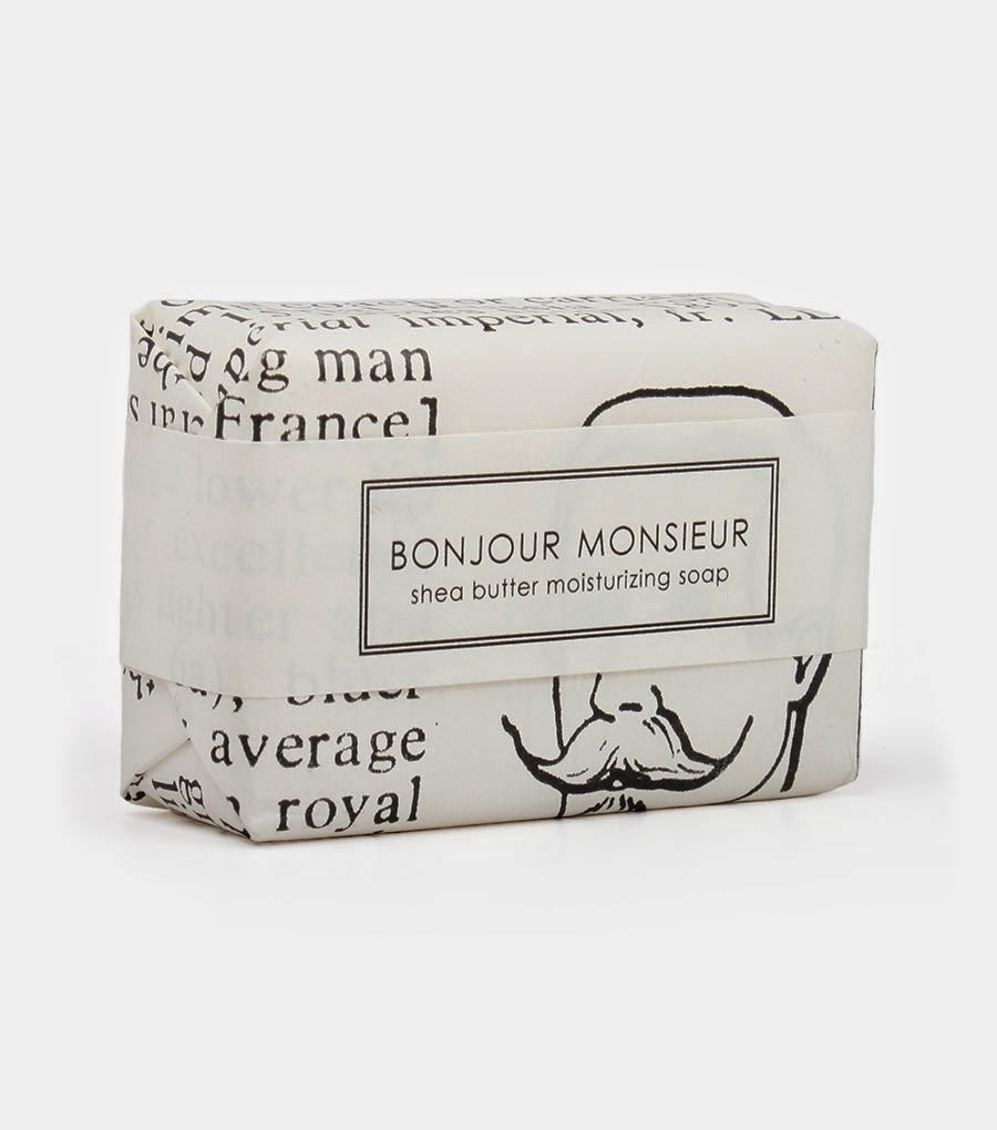What We Love Today: Bonjour Monsieur Soap.