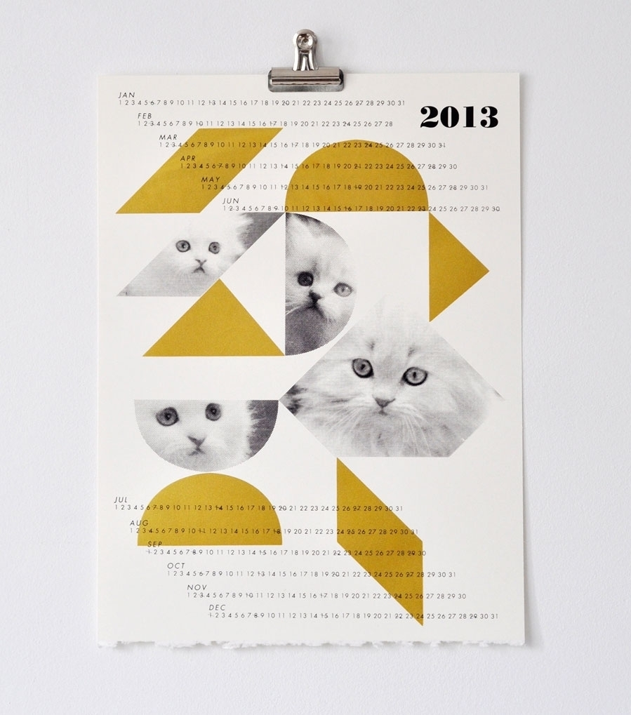 What we Love Today: Fieldguided Dreamcats Calendar.