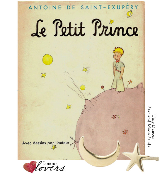 Famous Lovers: The Little Prince and his rose.