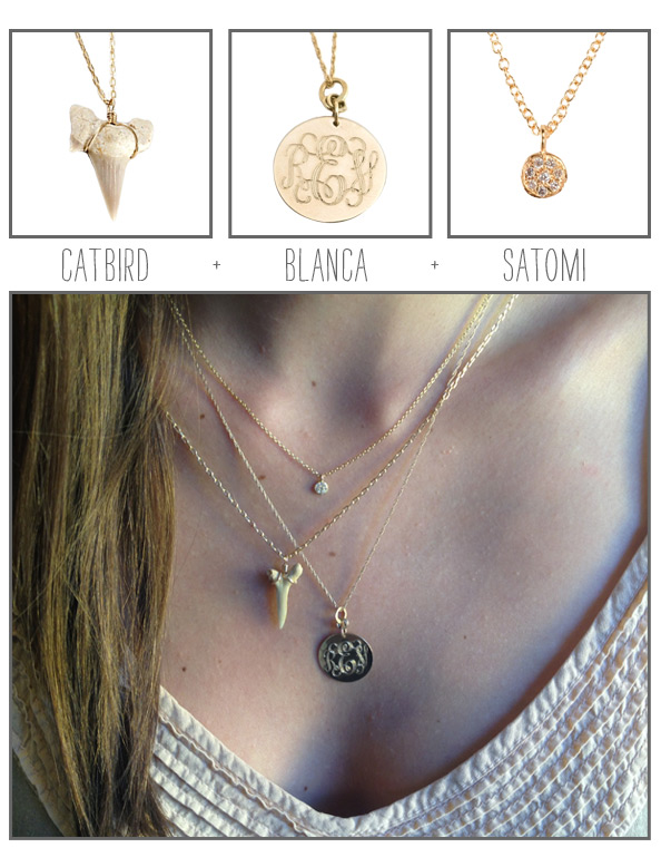 How We Wear It: Necklaces