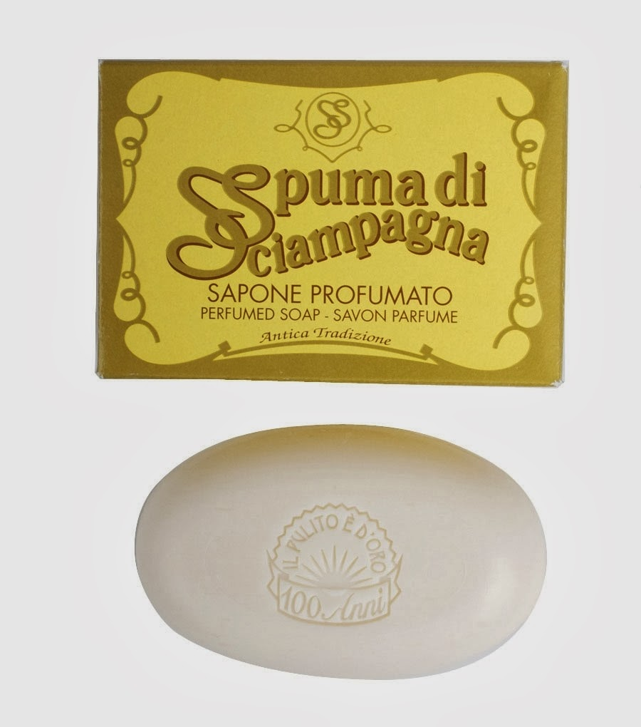 What we Love Today: Spuma di Sciampagna Soap