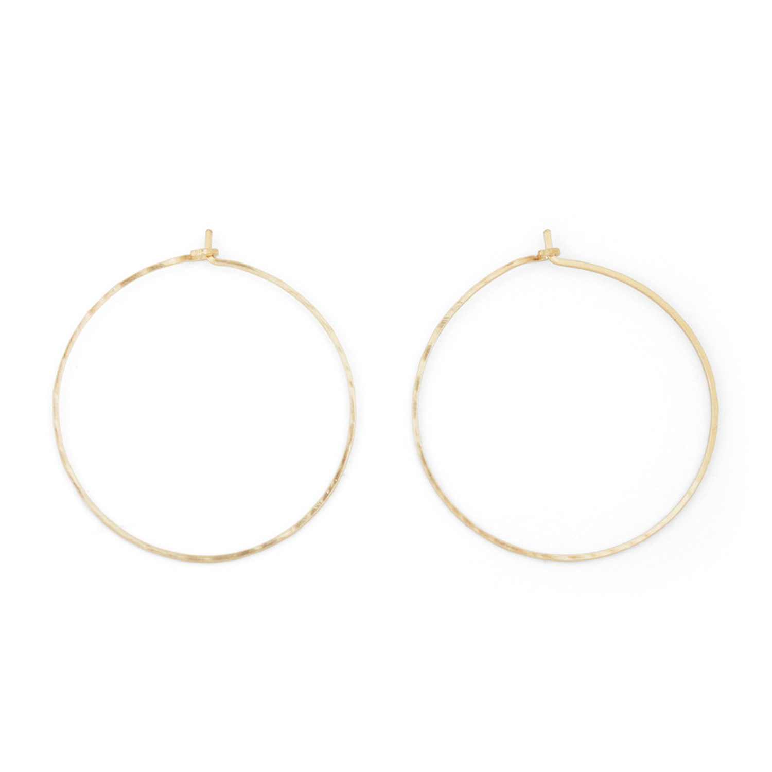 product earrings asymmetric circle basic snob
