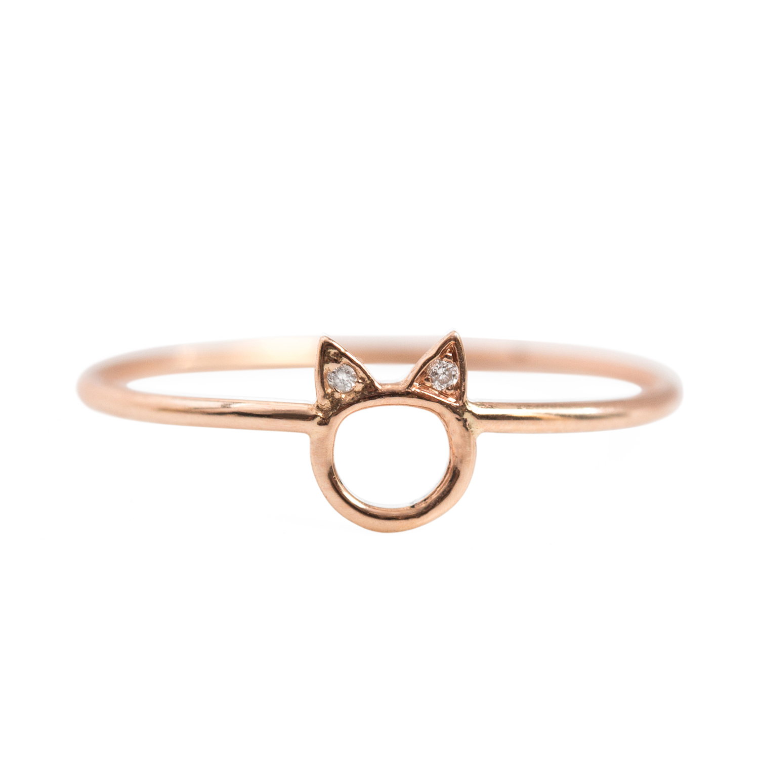 Choupette Ring Rose Gold