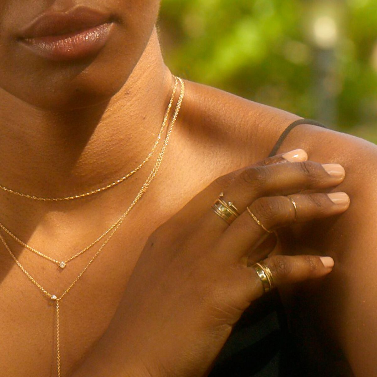 Mignon Memory Ring, yellow gold image