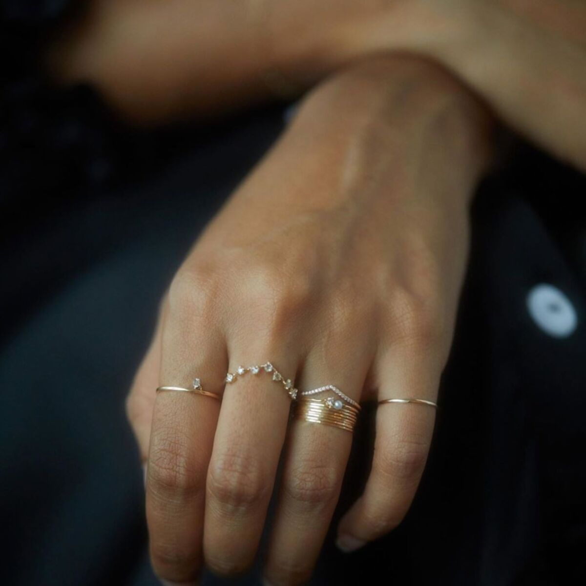 Threadbare Ring, Yellow Gold image