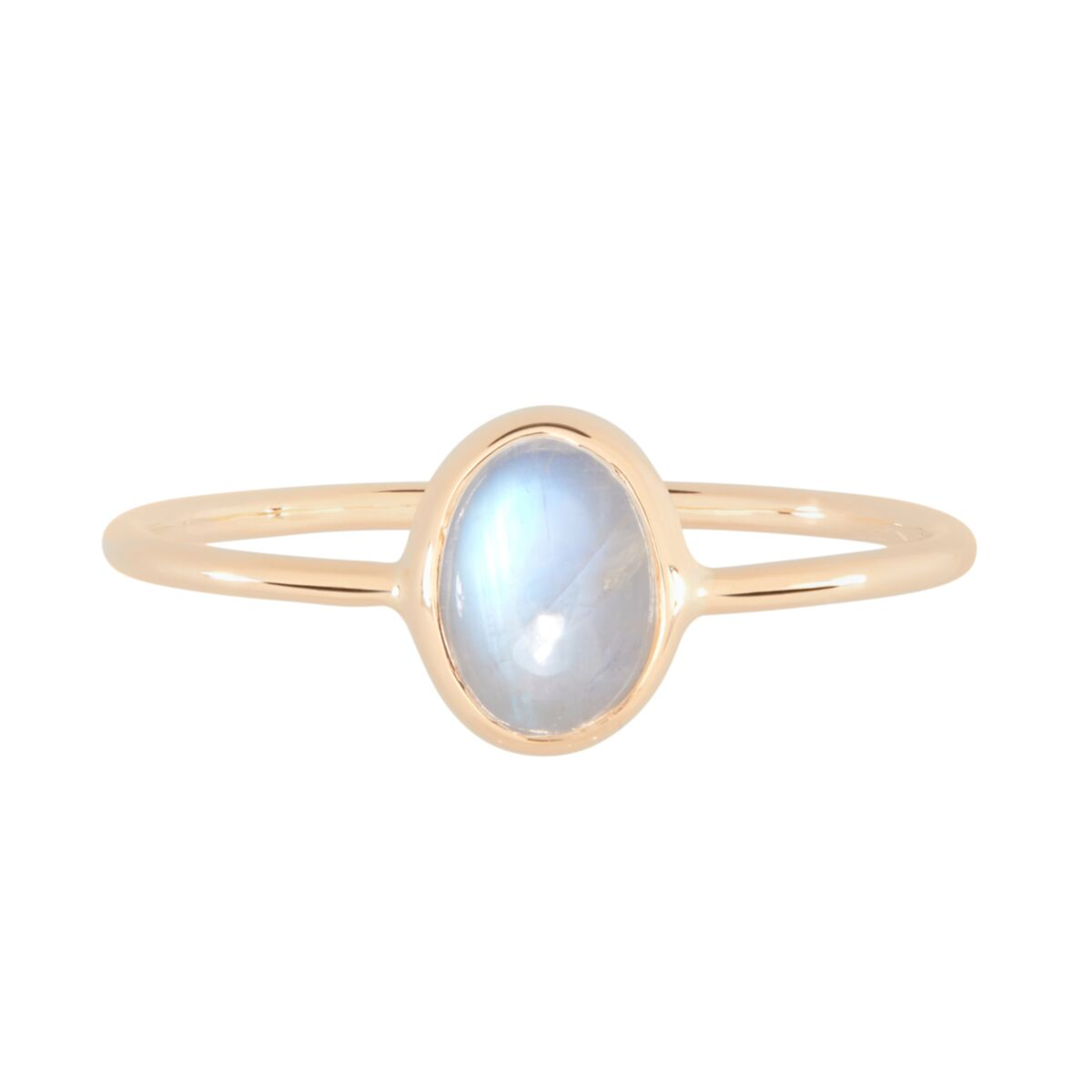 Oval Moonstone Ring image
