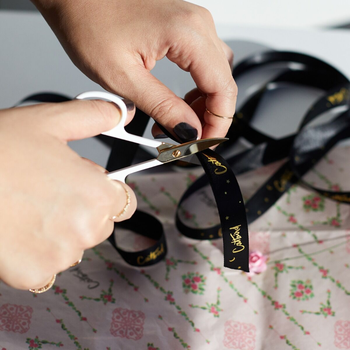 French Nail Scissors image