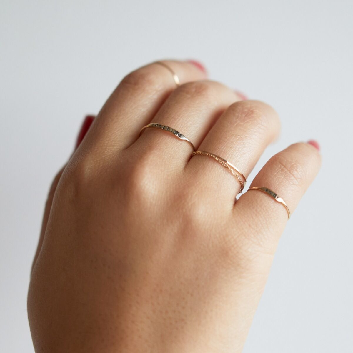 Famous Letter Ring image