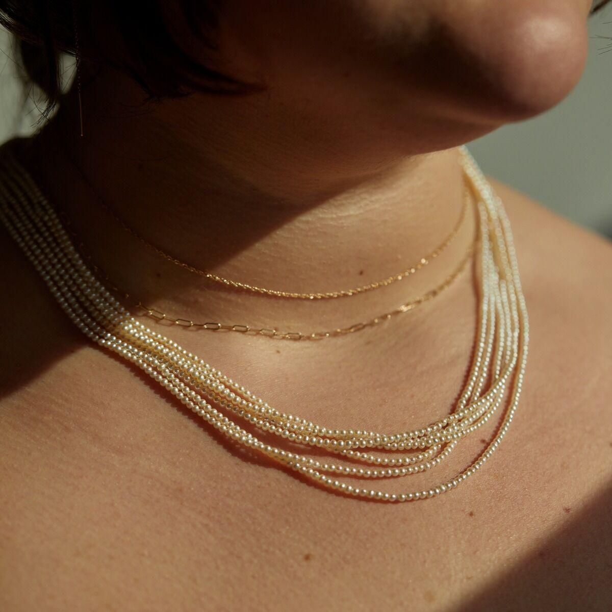 Rapunzel Pearl Necklace image