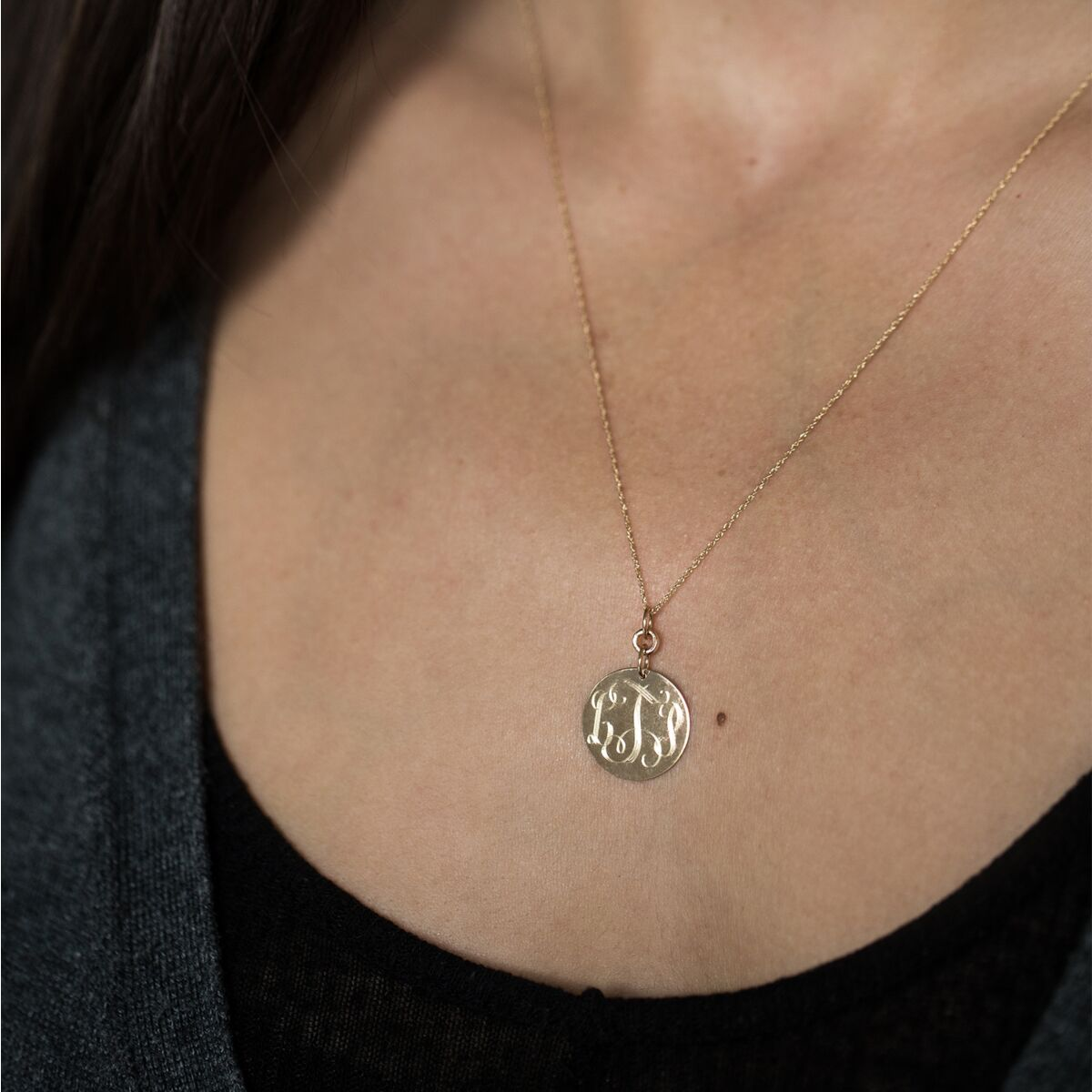 Monogram Necklace image