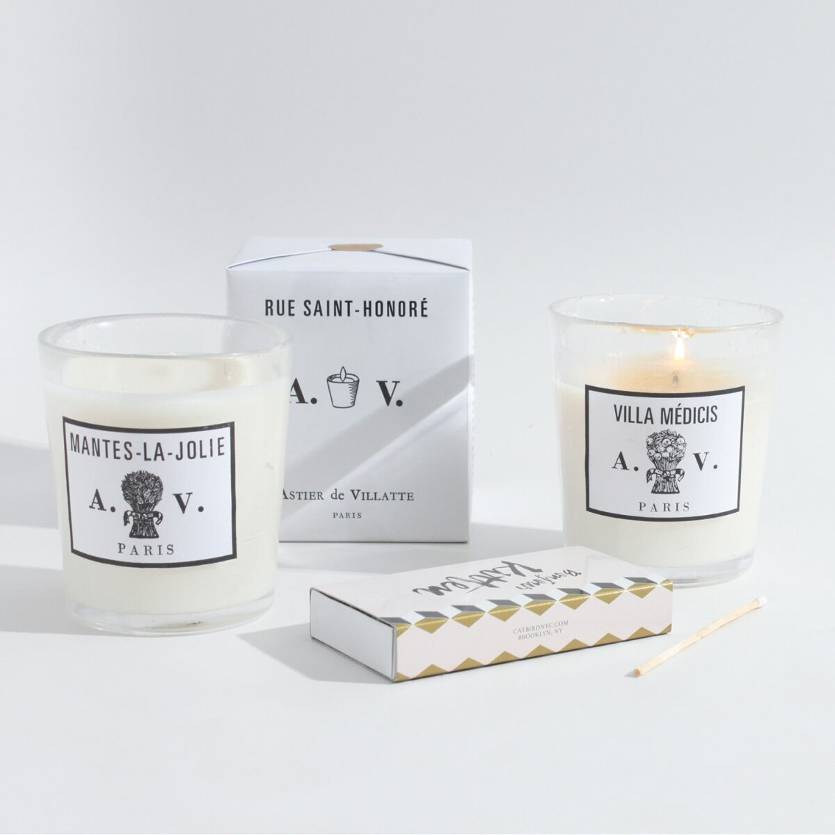 Rue Saint Honore Candle image
