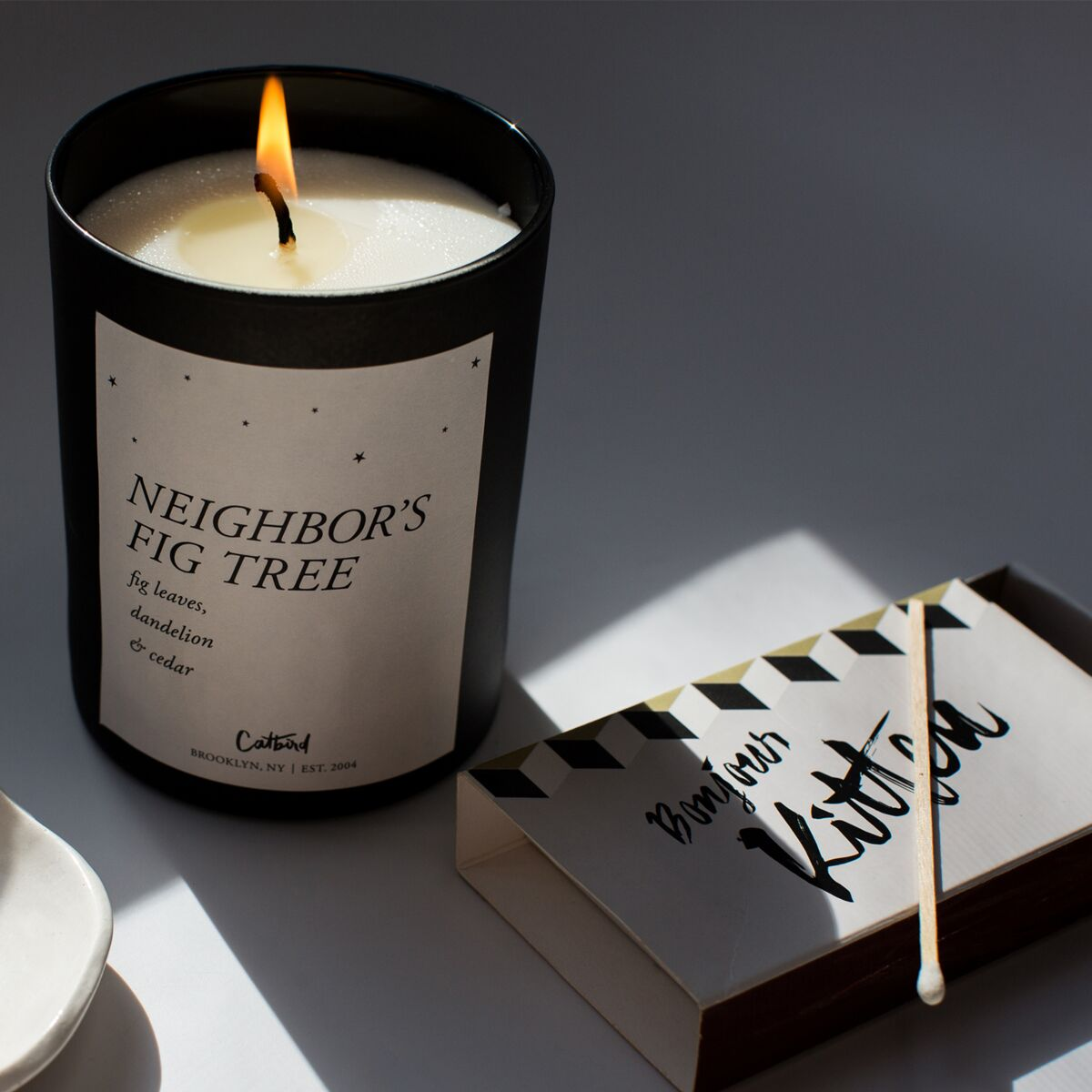 Neighbor's Fig Tree Candle image