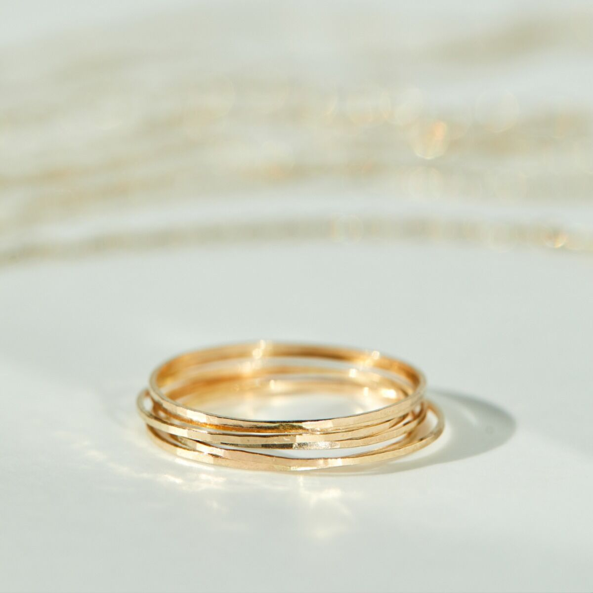 Threadbare Ring, Yellow Gold image