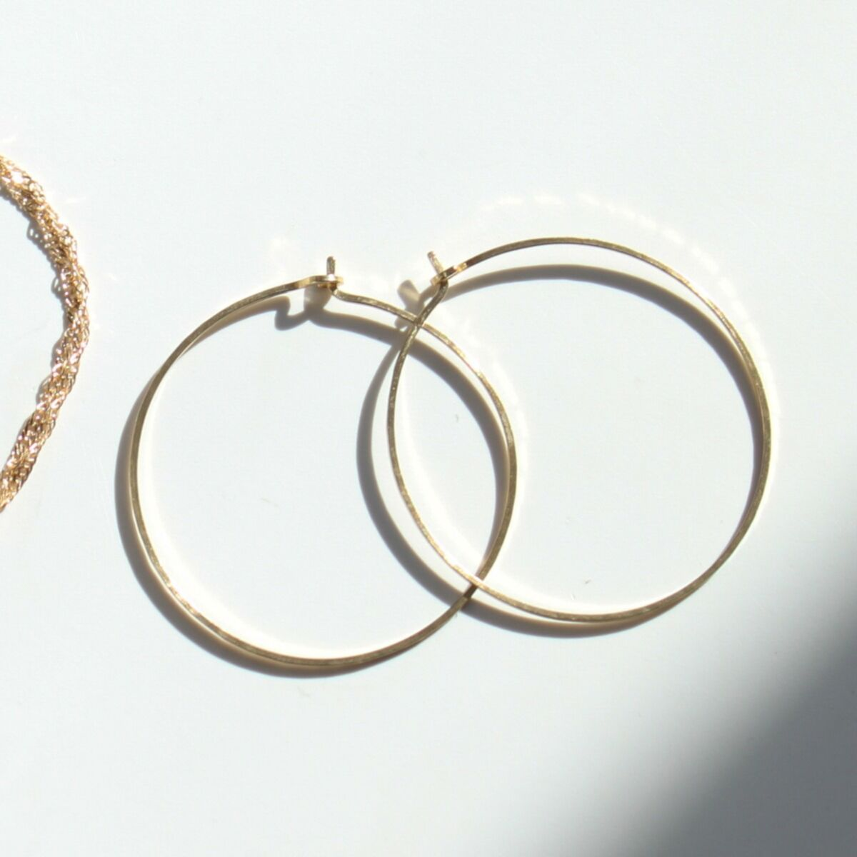 Big Hoop Dream Earrings, yellow gold image