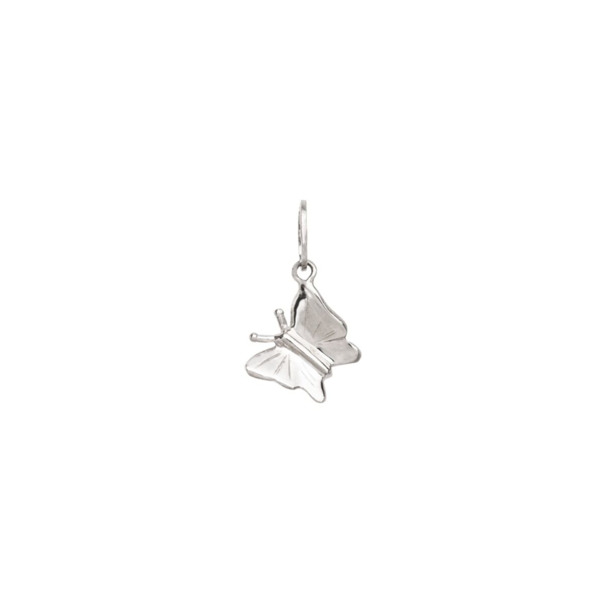 Little Butterfly Charm, Silver image