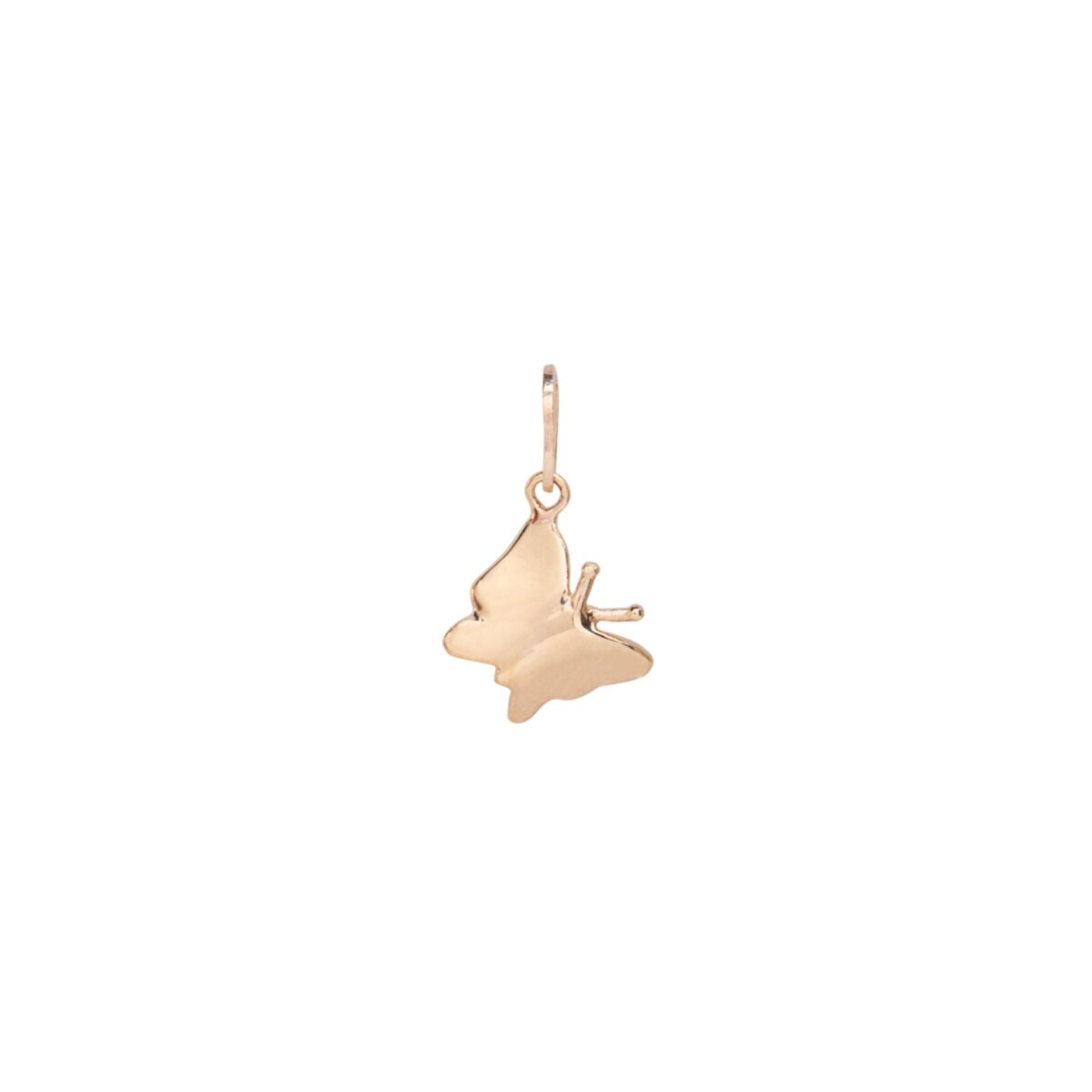 Little Butterfly Charm, Yellow Gold image