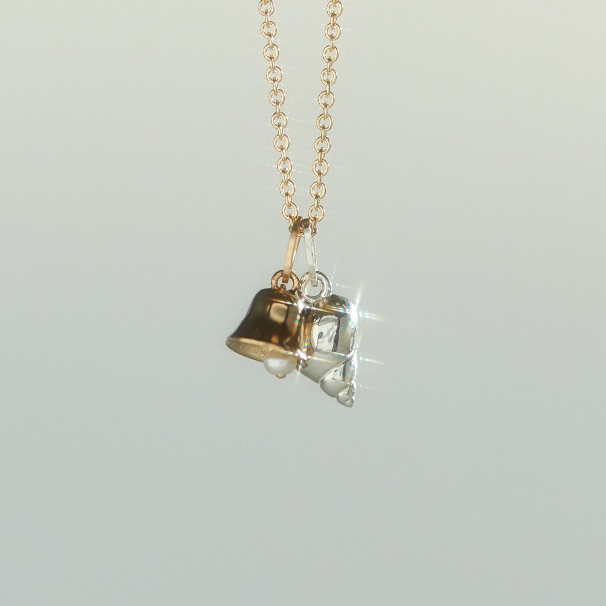 Bell Charm, Yellow Gold image