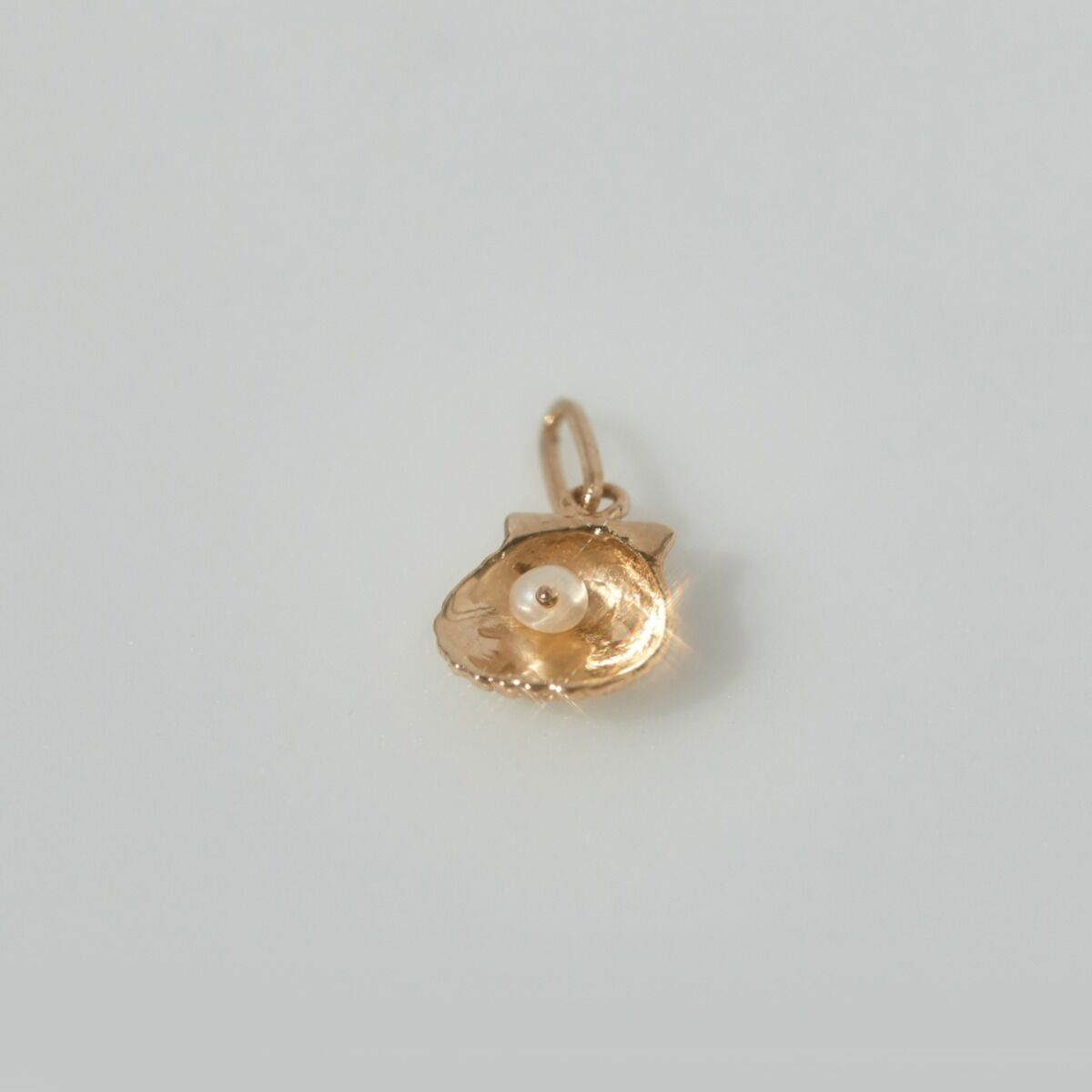 Fort Tilden Treasure Charm, Yellow Gold image