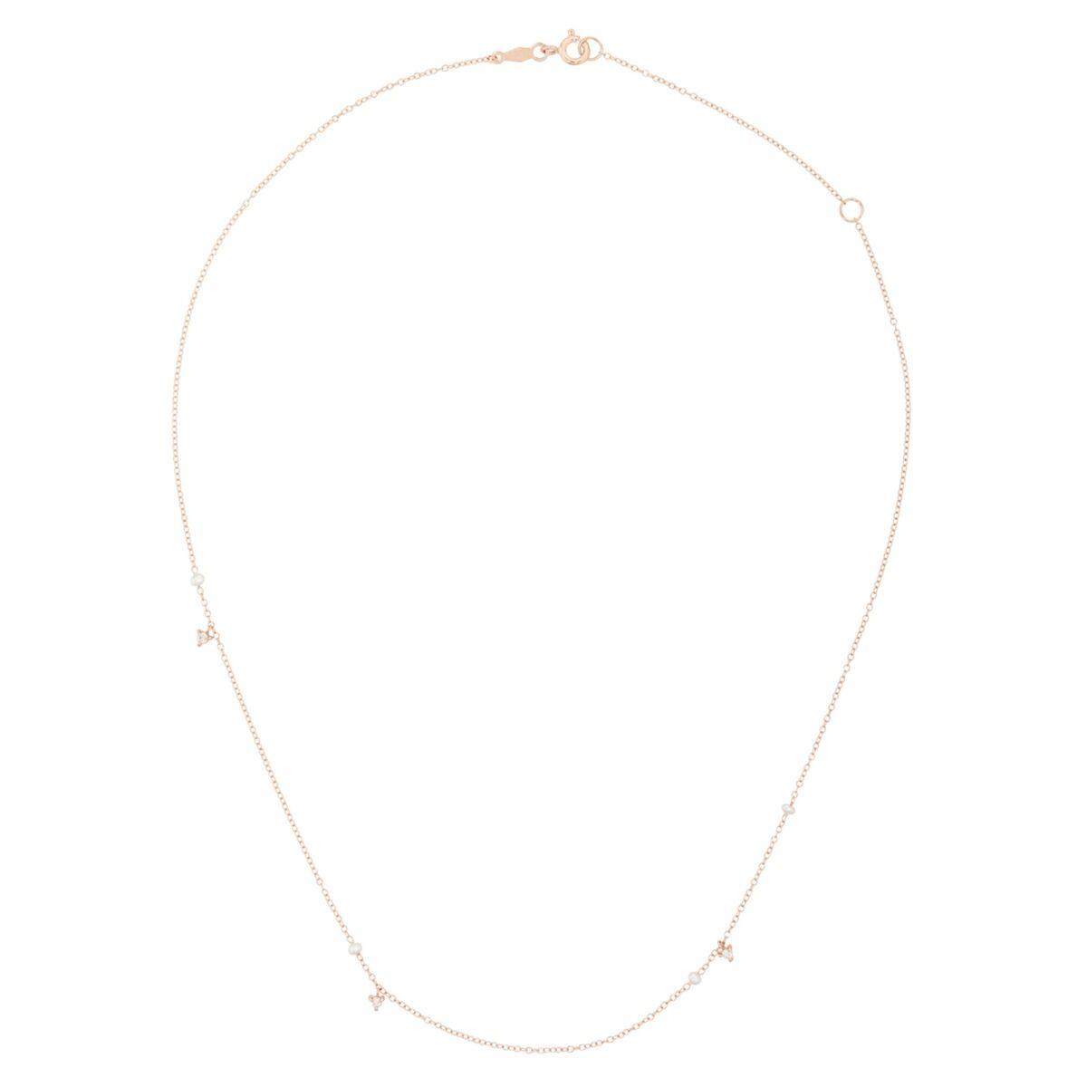 Dewdrop Collar, rose gold image