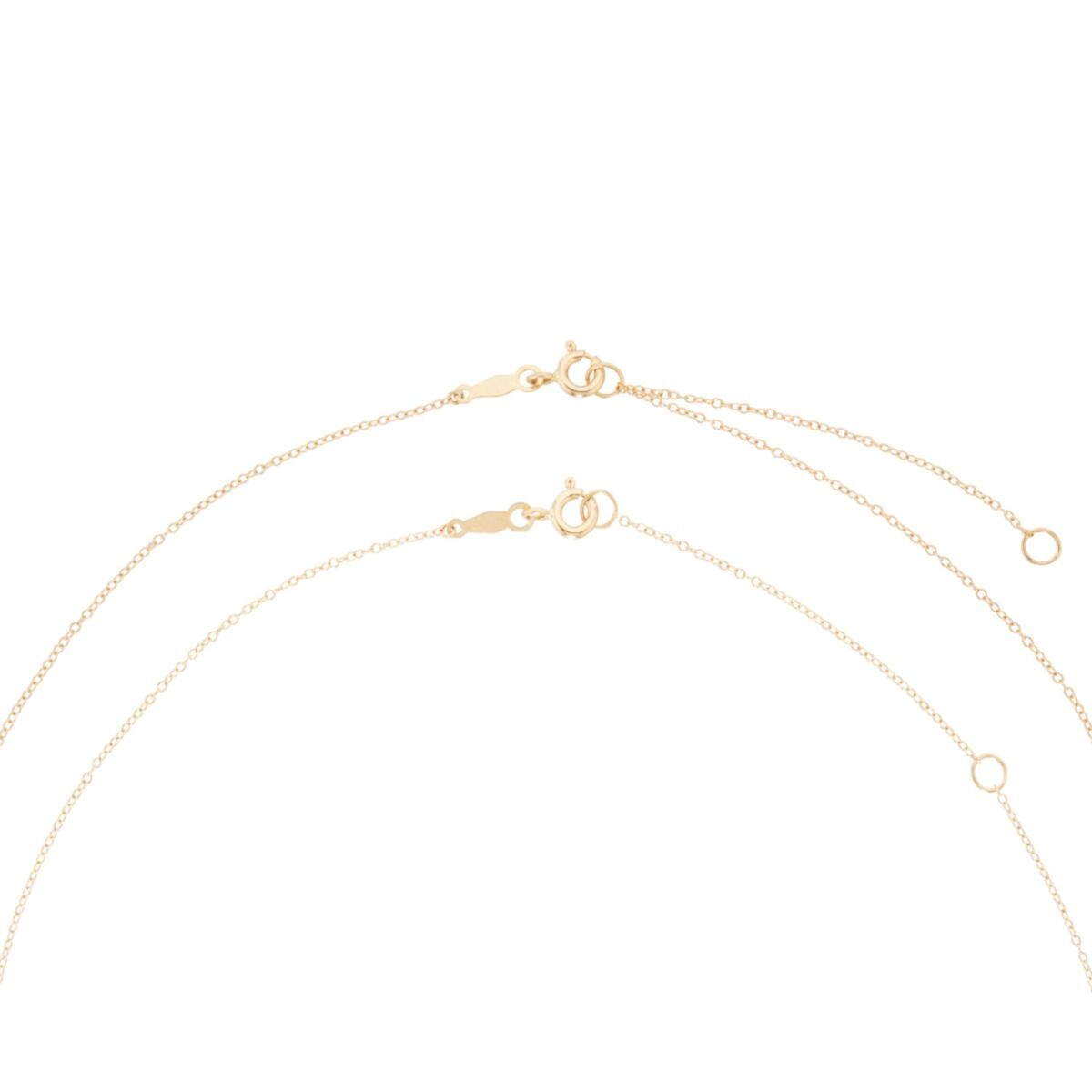 Dewdrop Collar, yellow gold image