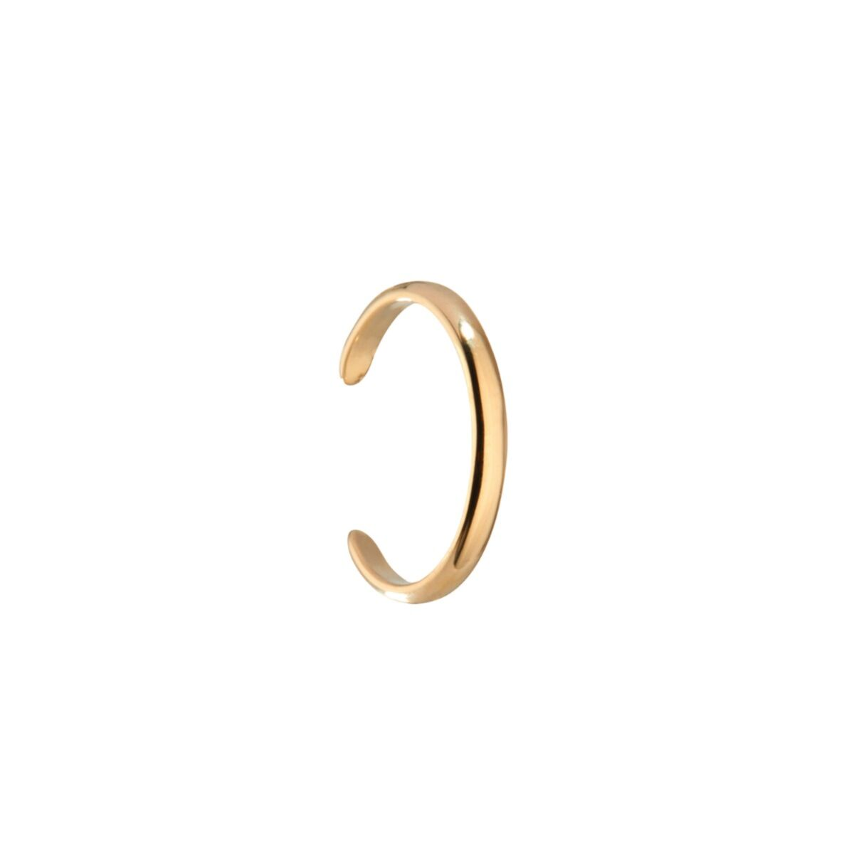 Ear Cuff, yellow gold image
