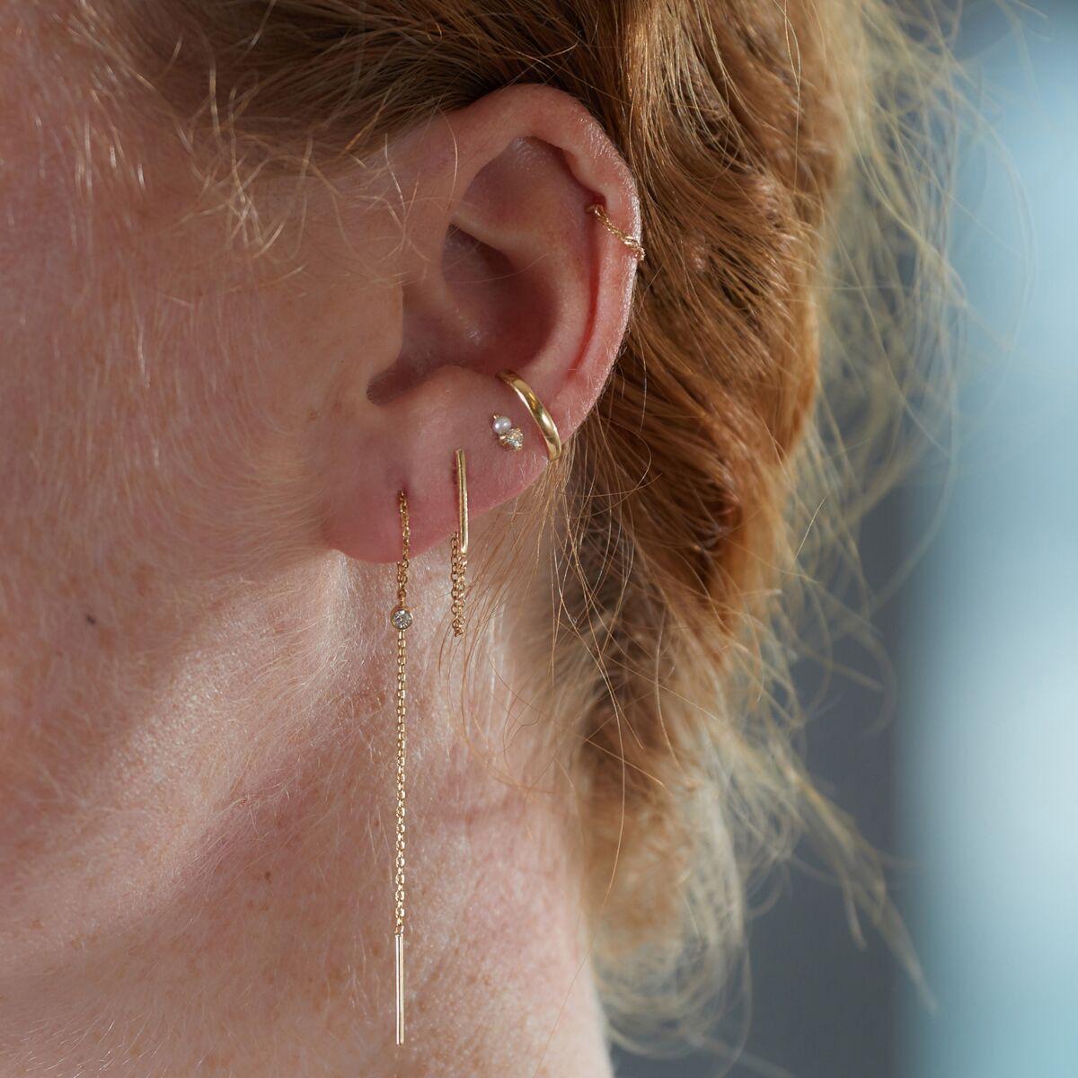 Diamond Greco Lariat Earring (single) image