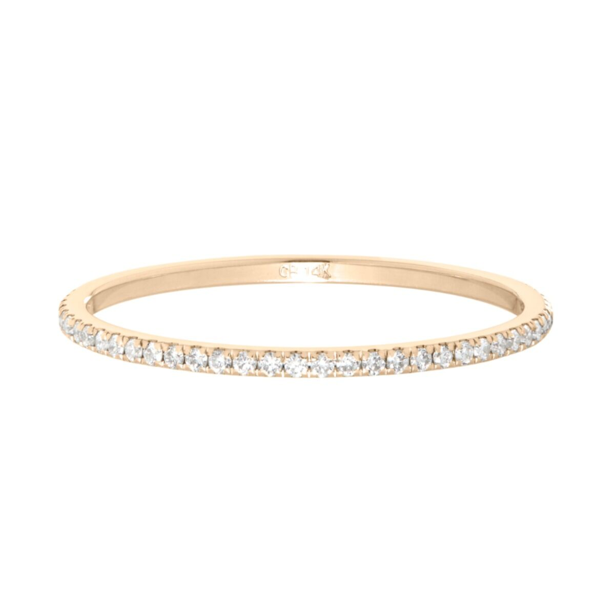 Fairy Light Eternity Band, White Diamonds image