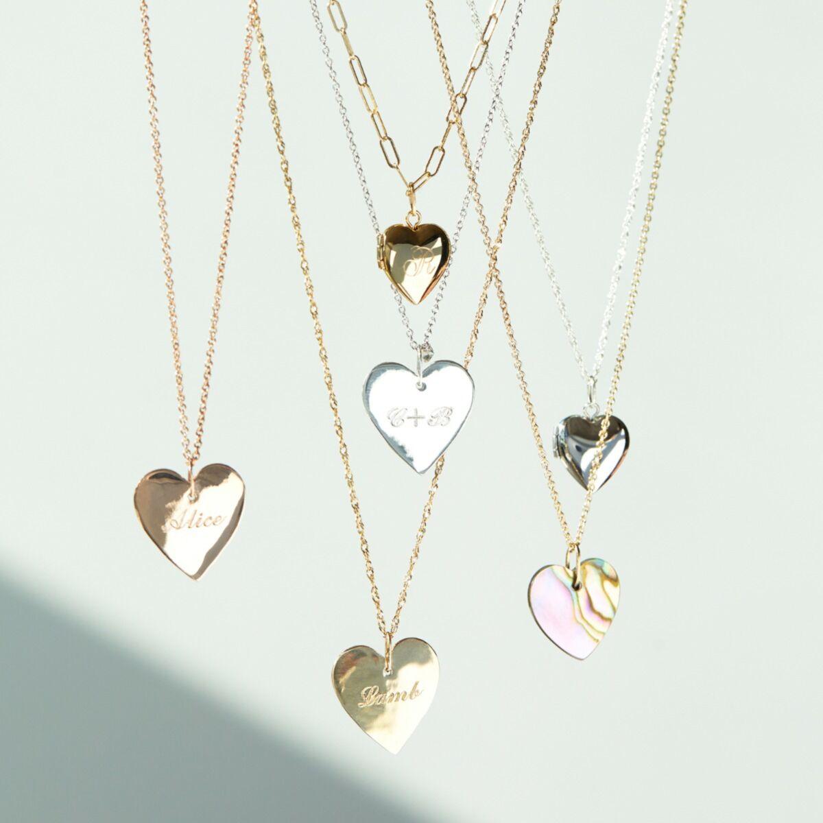 Full Heart, Yellow Gold image