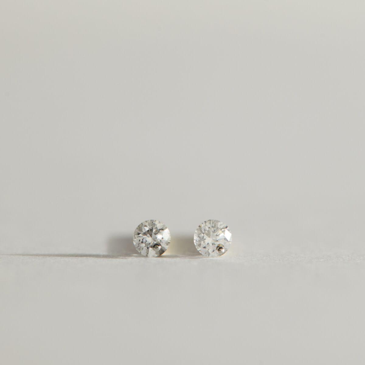 Diamond Pinprick Stud (Single) image