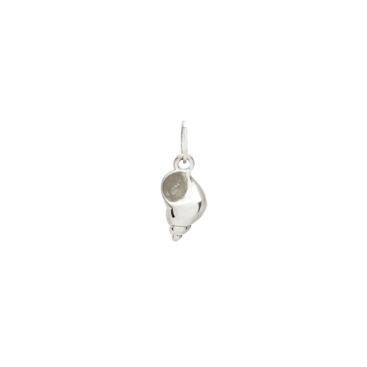 Tiny Shello Charm, Silver image
