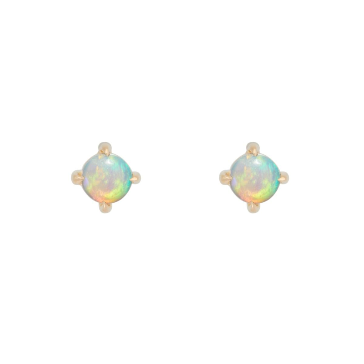 Sleeping Beauty Opal Stud (SINGLE) image