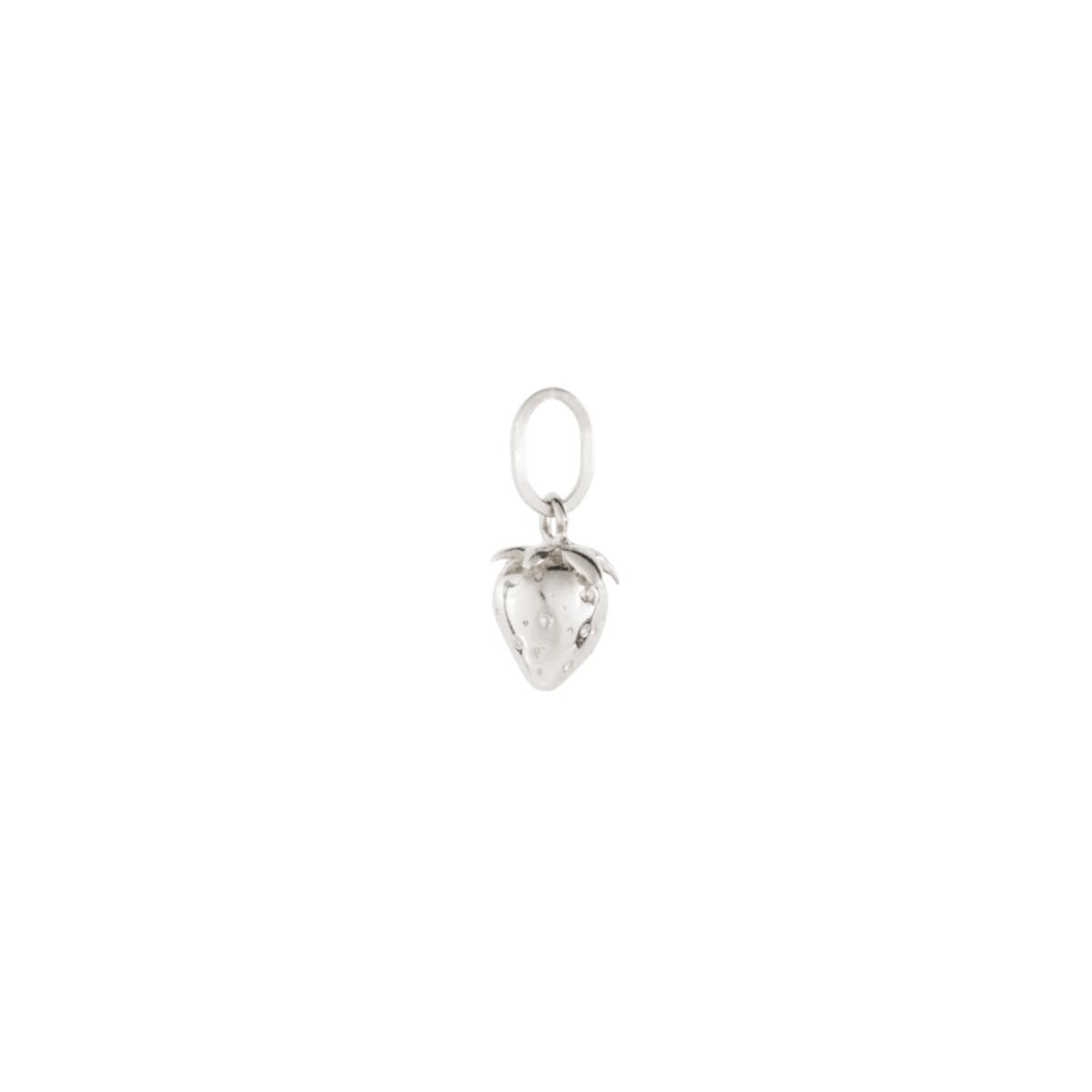 Wild Strawberry Charm, Silver image