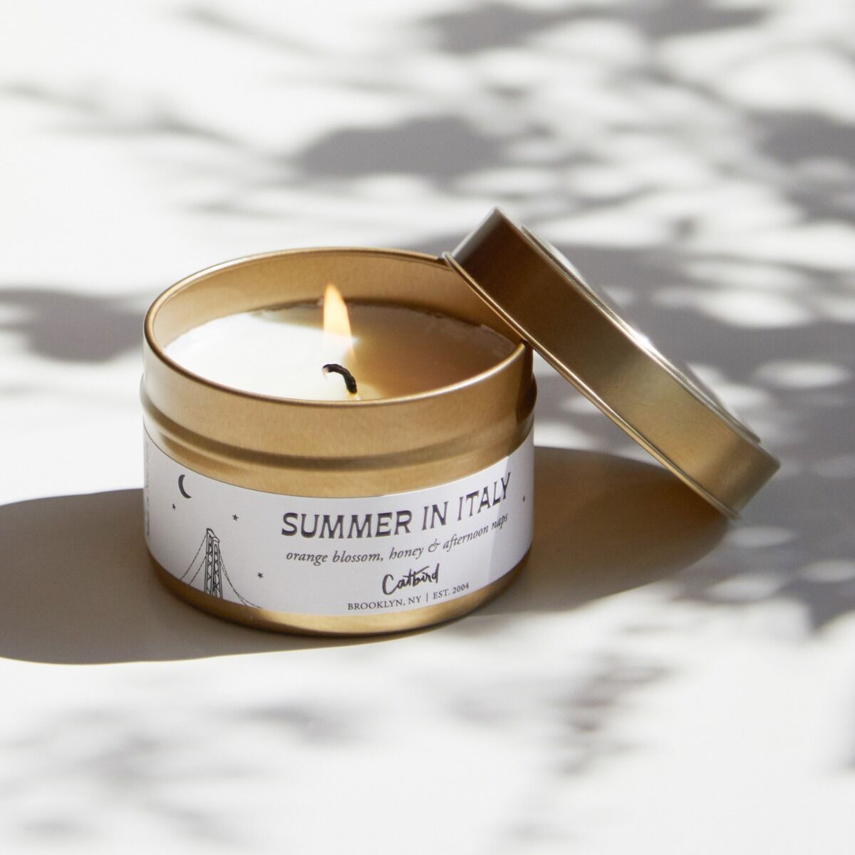 Summer in Italy Travel Candle image