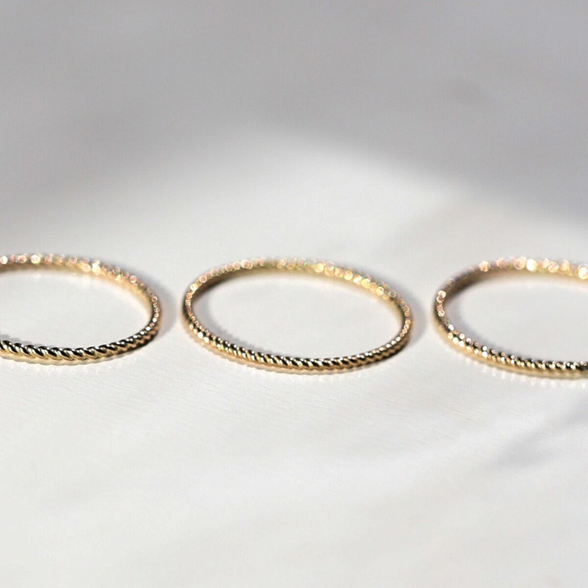 Twisted Stacker Ring image