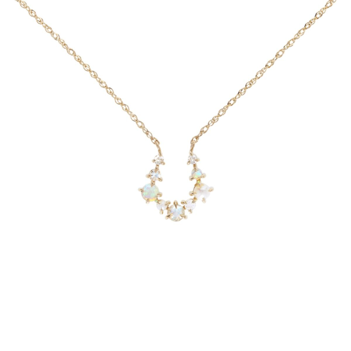 Unicorn Horseshoe Necklace image