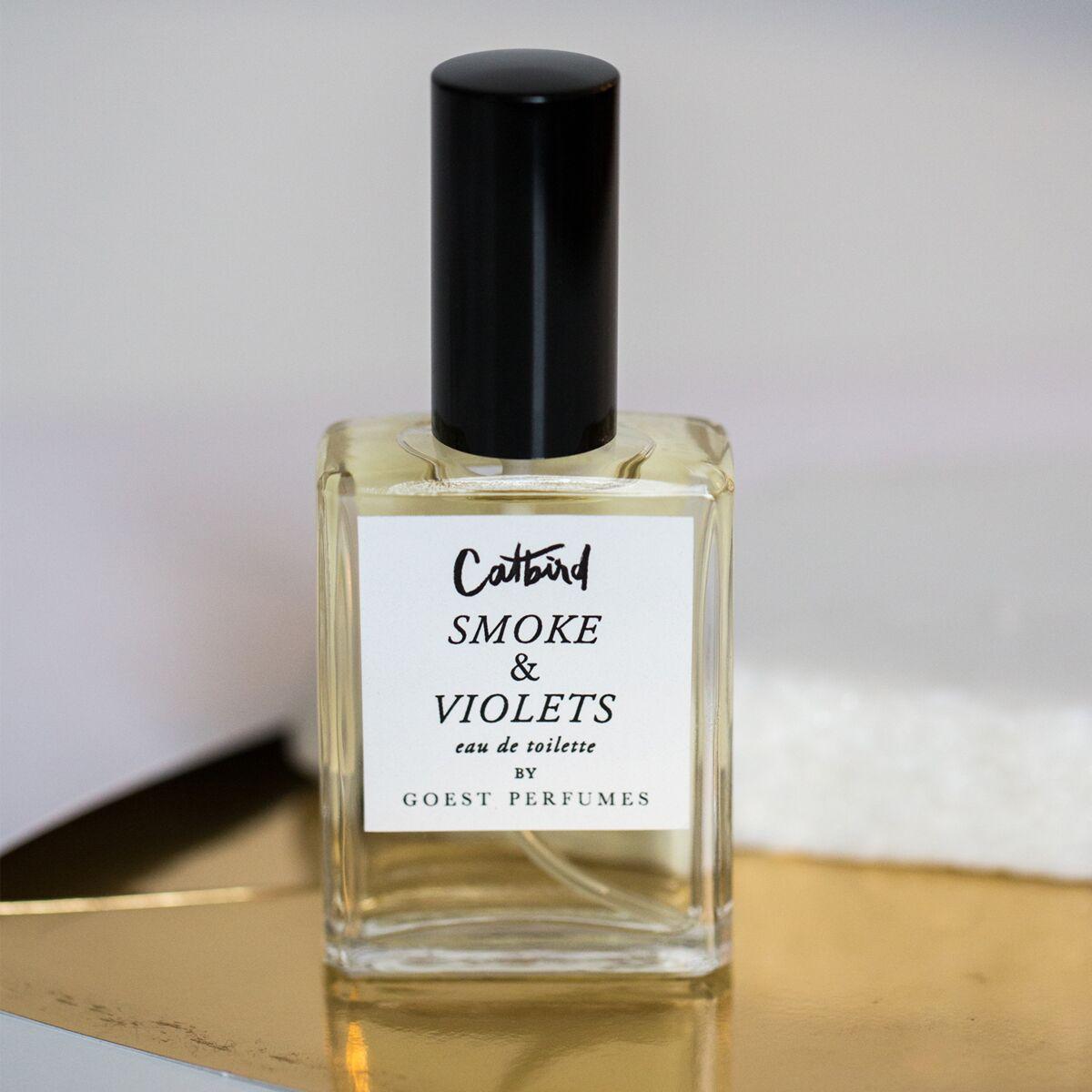 Catbird x Goest Smoke & Violets Perfume image