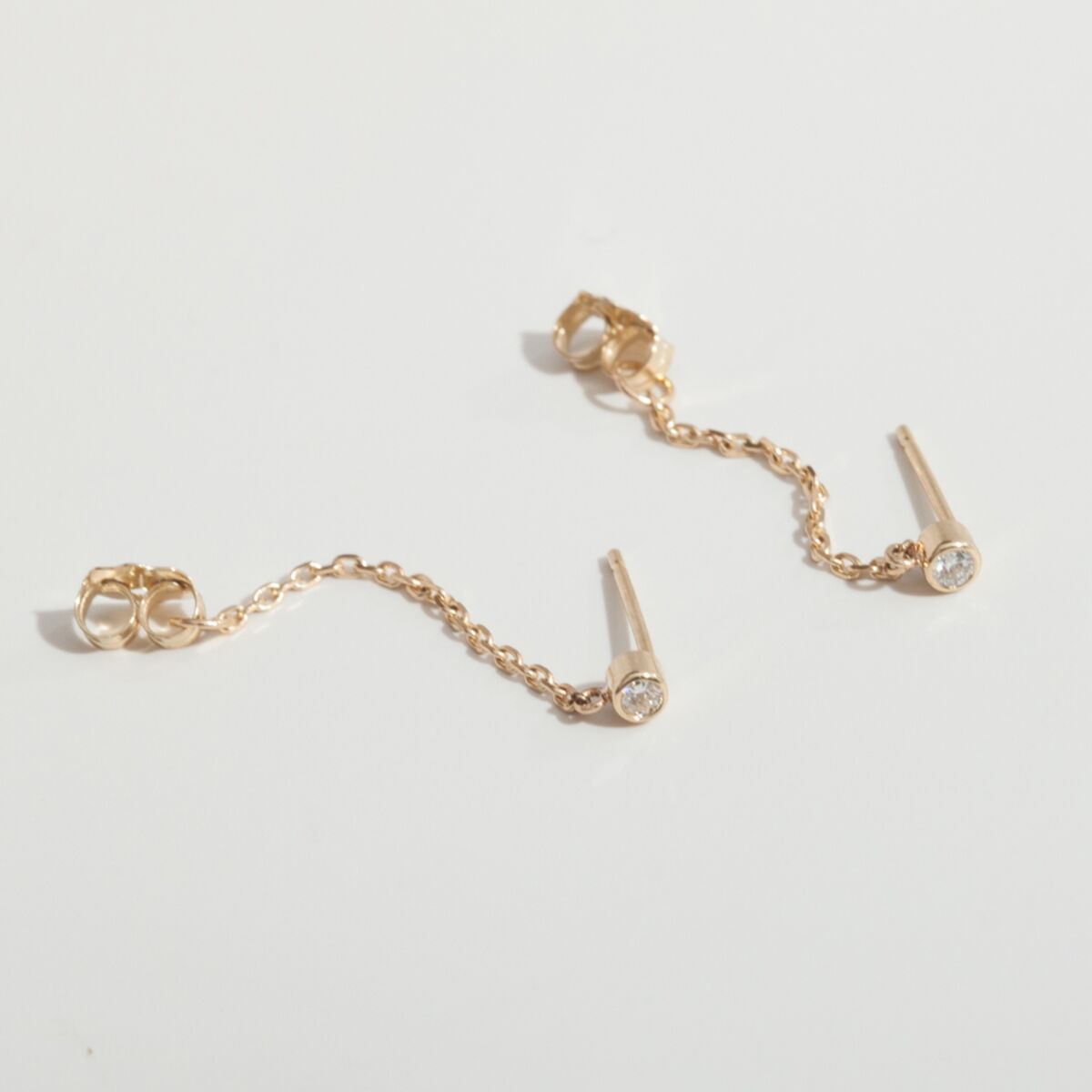 Chained to My Heart Earring, Sparkler (single) image