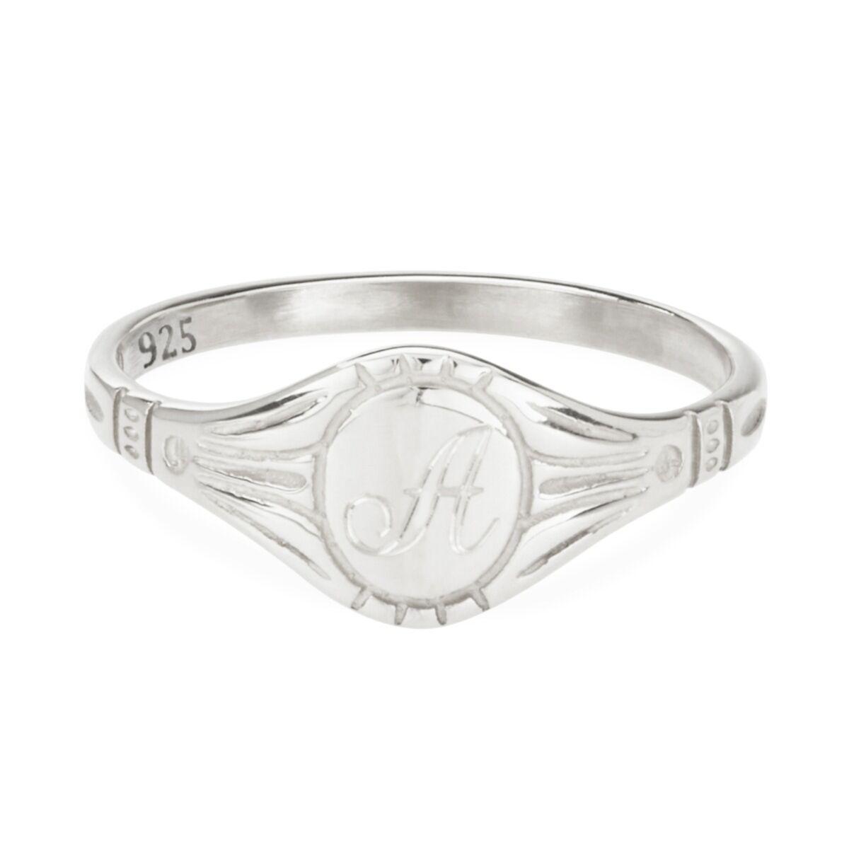 Grand Cygnet Ring, Silver image