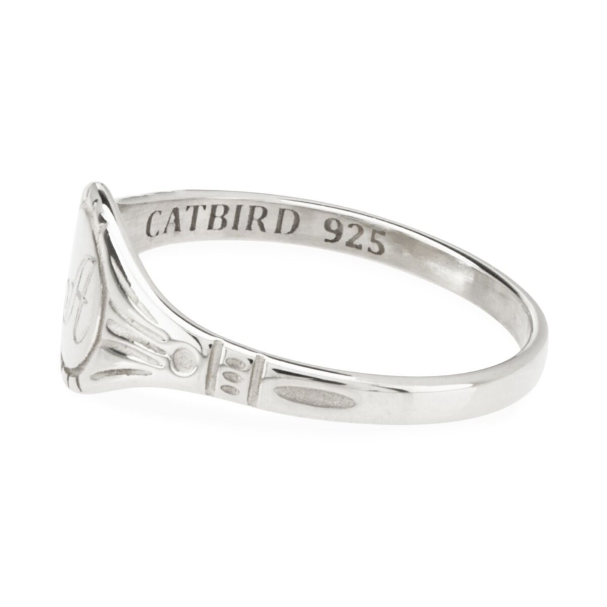 Grand Cygnet Ring, Silver image