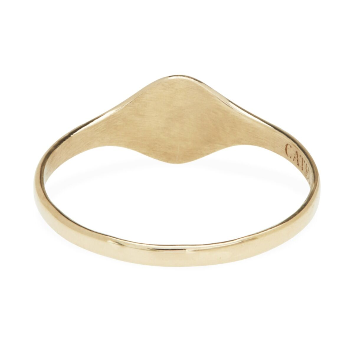 Baby Cygnet Ring, Yellow Gold image