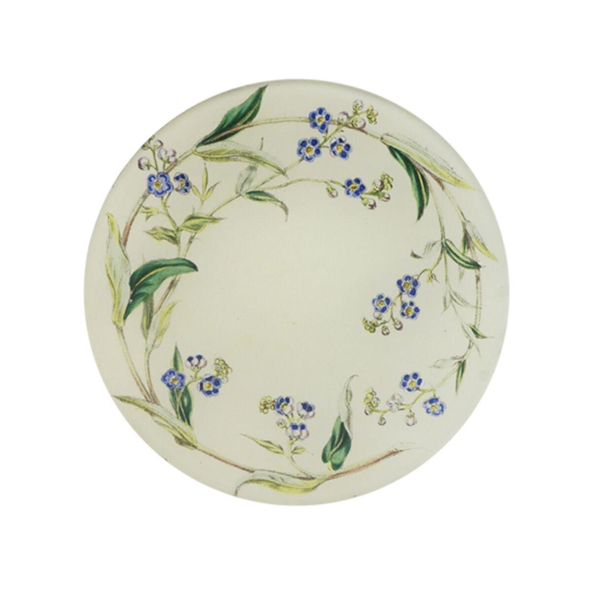 Blue Garland Round Plate image