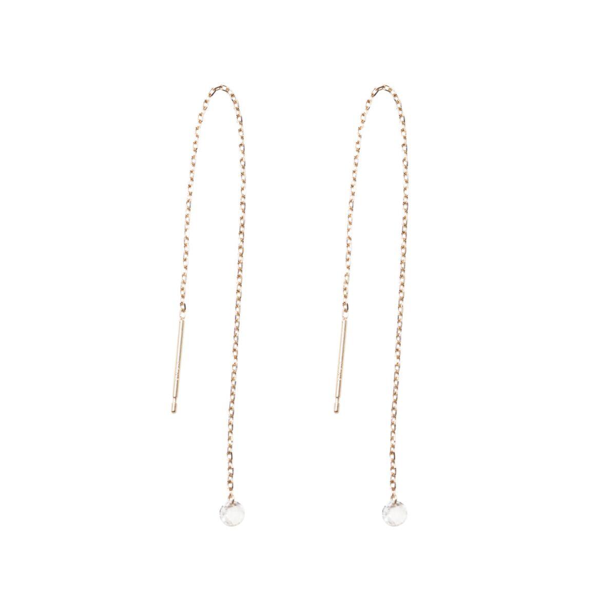 Diamond Drop Earrings image