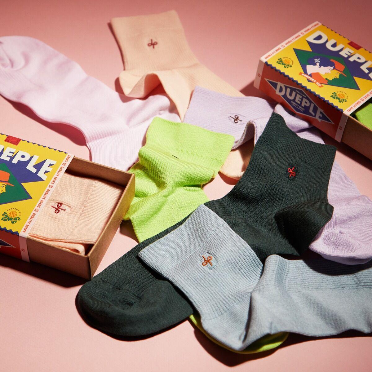 Slip on Socks, Rose Milk image