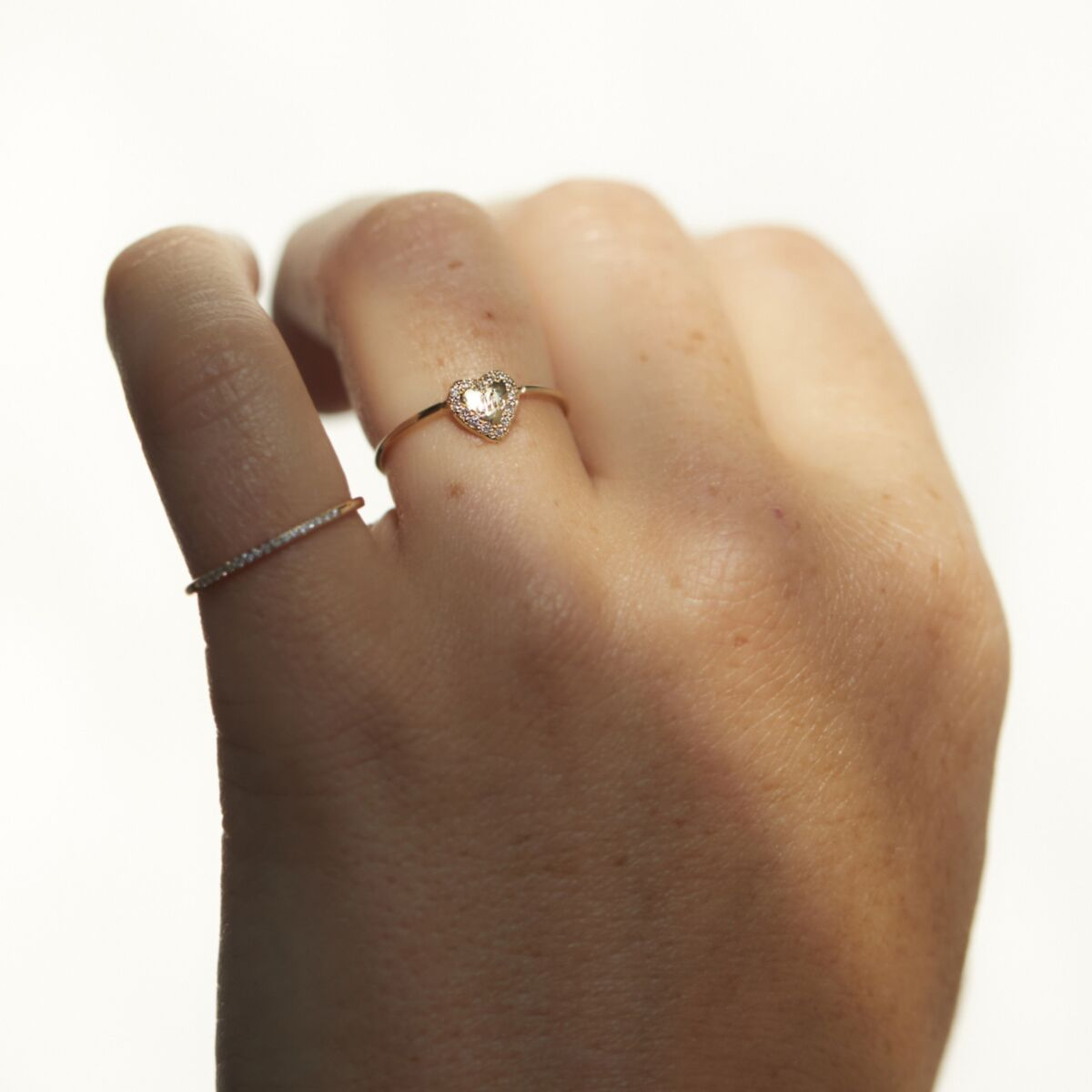 Puffy Heart Ring image