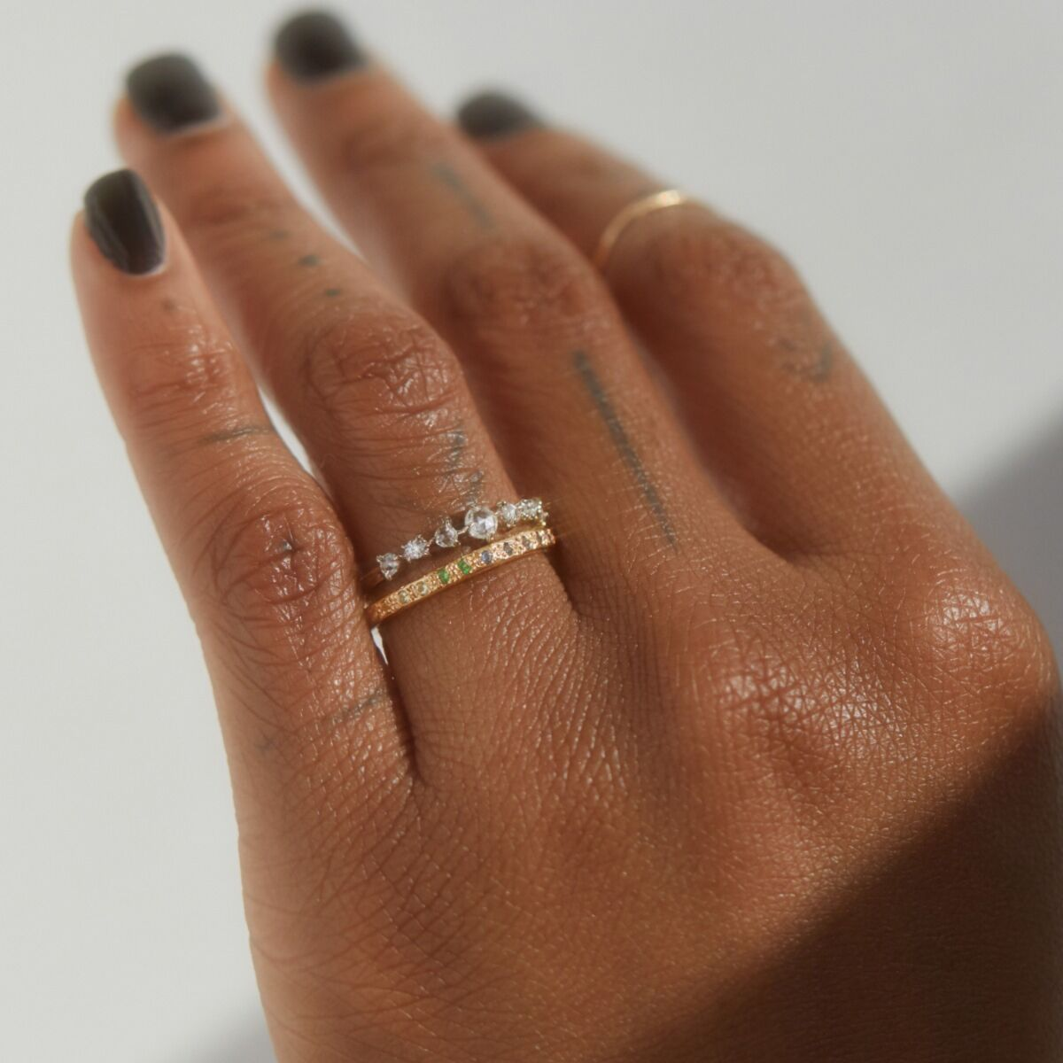 Ombré Eternity Band image